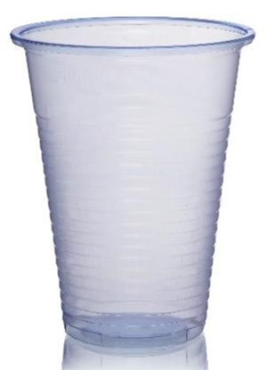 9oz/250ml Blue Polypropylene Plastic Cups