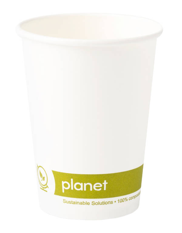 7OZ Biodegradable PLA lined paper cups